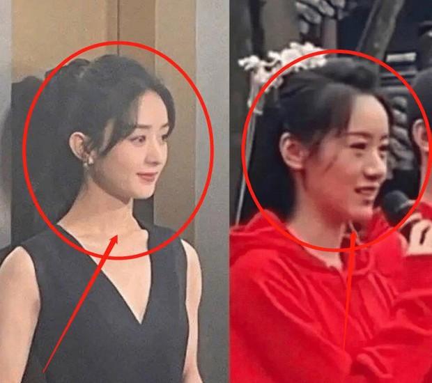 Bản sao Triệu Lệ Dĩnh bị trang tin hàng đầu công khai cà khịa, còn bị so nhan sắc với diễn viên đóng thế - Ảnh 2.