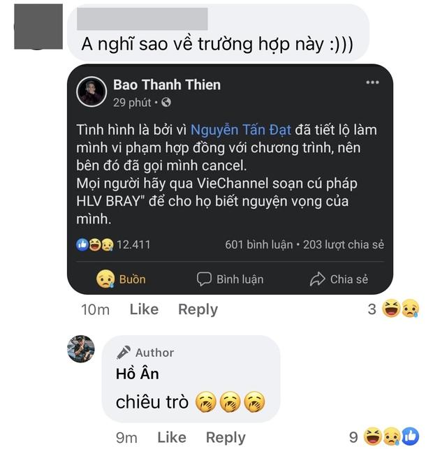 B Ray tuyên bố bị huỷ làm HLV Rap Việt mùa 2 do vi phạm hợp đồng, Blacka thẳng thừng phán: Chiêu trò - Ảnh 2.