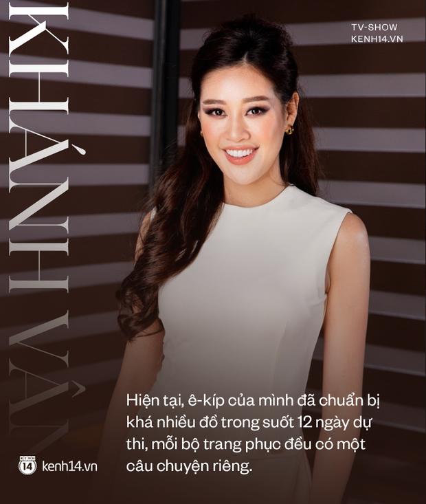 Gặp Khánh Vân trước khi sang Mỹ thi Miss Universe 2020: Gần như offline khỏi MXH, muốn bật khóc vì tập luyện quá nặng - Ảnh 4.