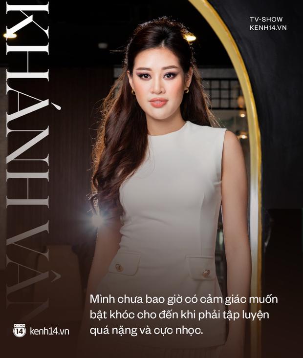 Gặp Khánh Vân trước khi sang Mỹ thi Miss Universe 2020: Gần như offline khỏi MXH, muốn bật khóc vì tập luyện quá nặng - Ảnh 6.