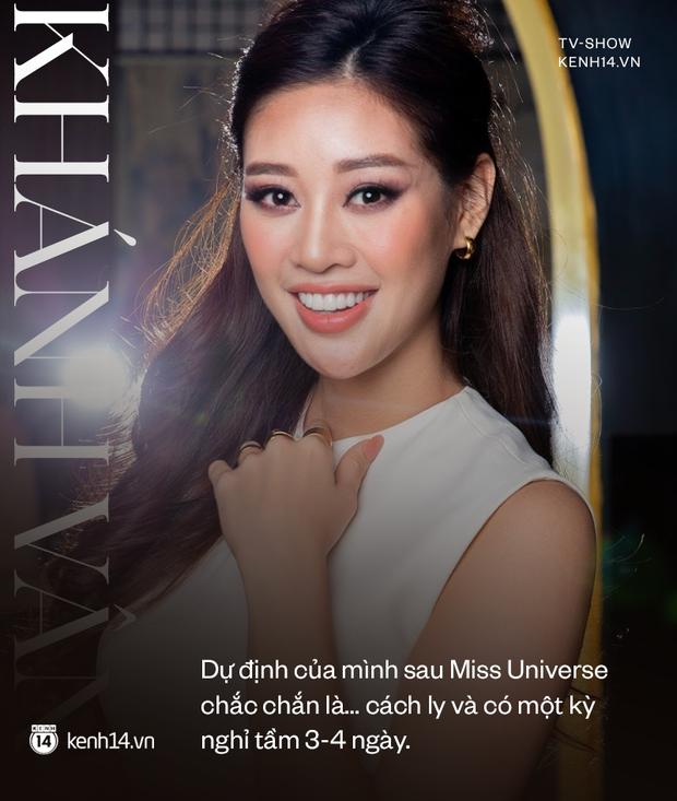 Gặp Khánh Vân trước khi sang Mỹ thi Miss Universe 2020: Gần như offline khỏi MXH, muốn bật khóc vì tập luyện quá nặng - Ảnh 12.