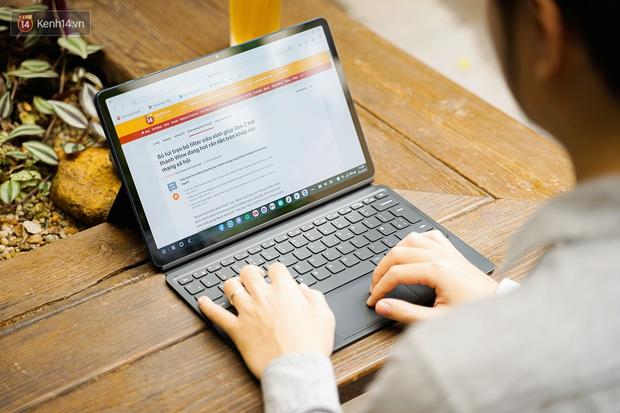 Laptop hỏng nên phải dùng tạm Galaxy Tab S7+ và đây là 6 thứ khiến tôi không muốn ''quay đầu'' - Ảnh 1.