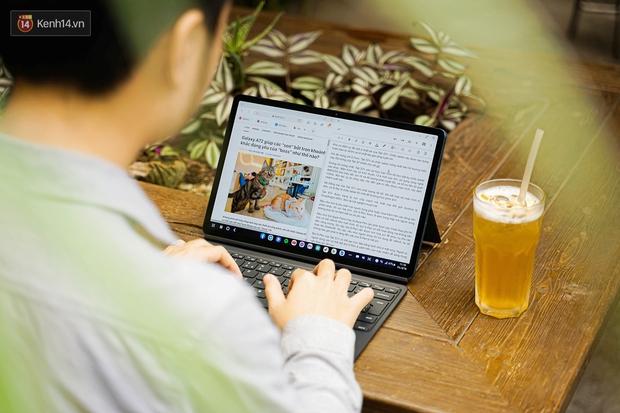 Laptop hỏng nên phải dùng tạm Galaxy Tab S7+ và đây là 6 thứ khiến tôi không muốn ''quay đầu'' - Ảnh 2.