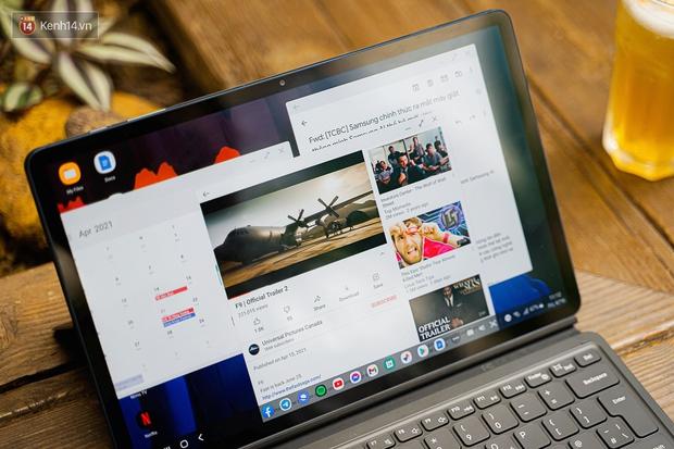 Laptop hỏng nên phải dùng tạm Galaxy Tab S7+ và đây là 6 thứ khiến tôi không muốn ''quay đầu'' - Ảnh 3.