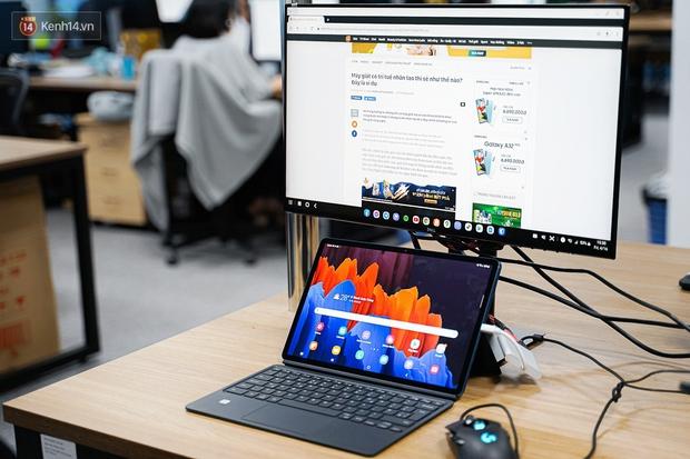Laptop hỏng nên phải dùng tạm Galaxy Tab S7+ và đây là 6 thứ khiến tôi không muốn ''quay đầu'' - Ảnh 5.