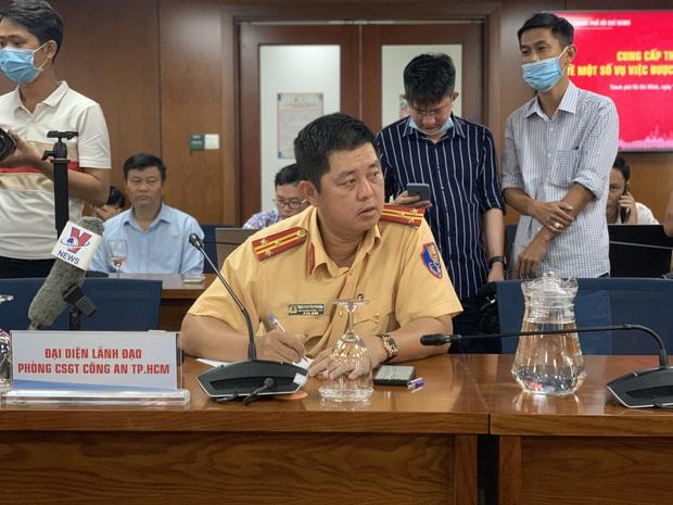 Công an vừa khởi tố vụ tổ chức đua xe trái phép, quái xế lại chặn đường Nguyễn Văn Linh để quậy ở Sài Gòn - Ảnh 3.