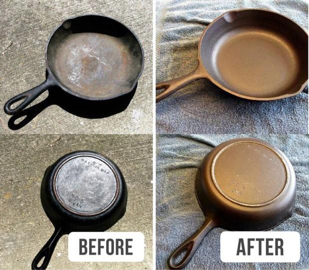 10 mẹo thần thánh giúp đồ vật trong nhà sáng bóng, sạch như lau như ly - Ảnh 6.
