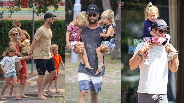Thái cực đối lập của 2 thánh cơ bắp Hollywood khi chăm con: The Rock hóa bánh bèo, Thor lại cục súc dốc ngược cả con - Ảnh 18.