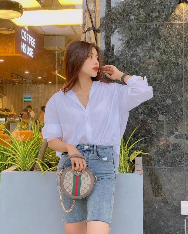 Vợ của Phan Mạnh Quỳnh: Style chẳng khác gì tiểu thư thứ thiệt, sở hữu cả BST túi hàng hiệu cả trăm triệu đồng - Ảnh 8.