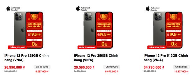 Nóng: 4 mẫu iPhone 12 lại tiếp tục giảm giá cực mạnh - Ảnh 4.