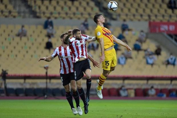 Messi lập cú đúp, Barca vùi dập Bilbao để vô địch Cúp Nhà vua Tây Ban Nha - Ảnh 3.