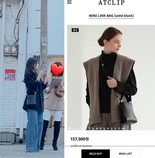 Song Hye Kyo lại khiến antifan phải á khẩu khi mẫu túi cô đeo vừa đeo lại cháy hàng trong 1 nốt nhạc - Ảnh 3.