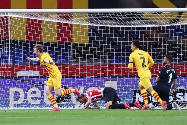 Messi lập cú đúp, Barca vùi dập Bilbao để vô địch Cúp Nhà vua Tây Ban Nha - Ảnh 6.