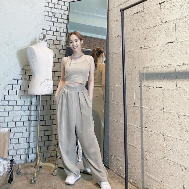 Style của Park Min Young ngày càng thăng hạng dữ dội, hay là yêu rồi nên vậy? - Ảnh 4.