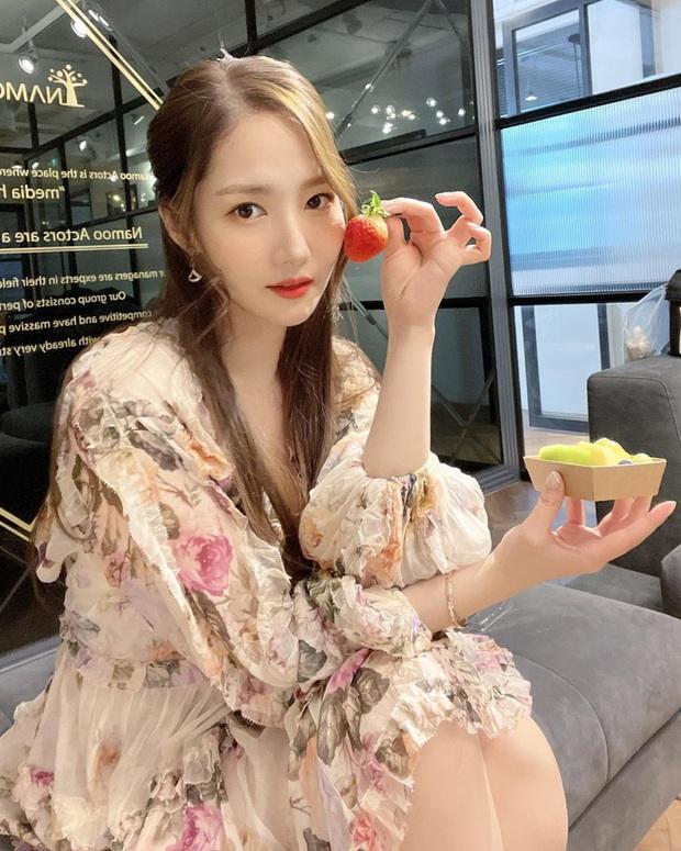 Style của Park Min Young ngày càng thăng hạng dữ dội, hay là yêu rồi nên vậy? - Ảnh 5.