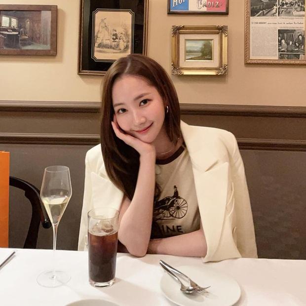 Style của Park Min Young ngày càng thăng hạng dữ dội, hay là yêu rồi nên vậy? - Ảnh 6.