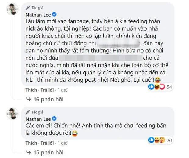 Nathan Lee làm rõ lý do đăng ảnh nóng nghi của Ngọc Trinh, tuyên bố chơi tới cùng: Chiến nhé! Anh tính tha mà không được rồi! - Ảnh 2.