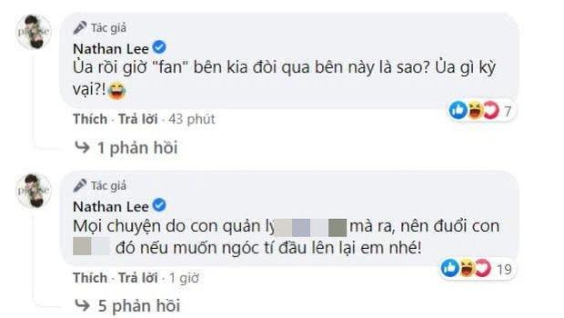 Nathan Lee làm rõ lý do đăng ảnh nóng nghi của Ngọc Trinh, tuyên bố chơi tới cùng: Chiến nhé! Anh tính tha mà không được rồi! - Ảnh 3.