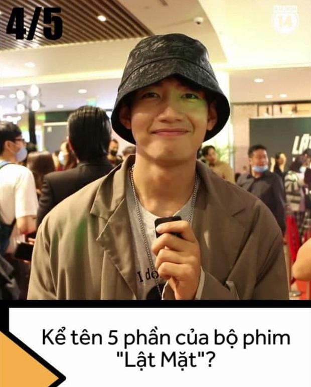 Dàn sao Việt đớ người trước thử thách kể tên 5 phần phim Lật Mặt của Lý Hải, chỉ duy nhất một người đúng 100% nha! - Ảnh 4.