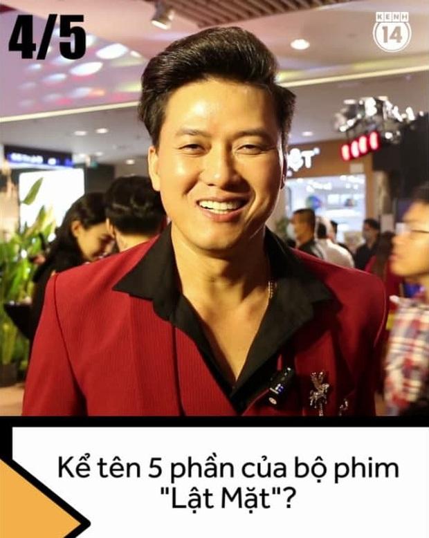 Dàn sao Việt đớ người trước thử thách kể tên 5 phần phim Lật Mặt của Lý Hải, chỉ duy nhất một người đúng 100% nha! - Ảnh 5.