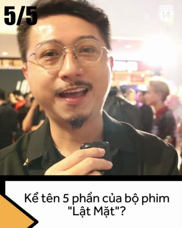Dàn sao Việt đớ người trước thử thách kể tên 5 phần phim Lật Mặt của Lý Hải, chỉ duy nhất một người đúng 100% nha! - Ảnh 7.