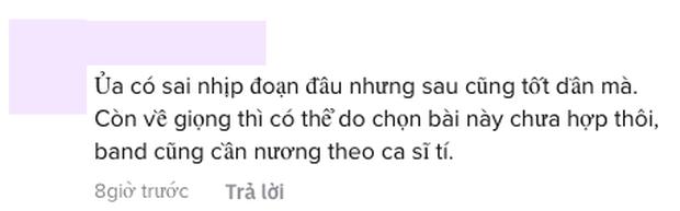 Khán giả nghe live thì chê Quân A.P, nhưng netizen lại có phản ứng trái ngược? - Ảnh 5.