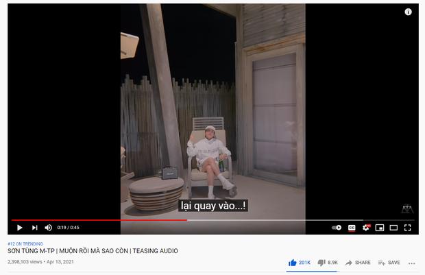 Sơn Tùng tích cực quảng bá ca khúc mới, nhắn tin nhắc tận nơi nhưng teaser lết mãi không lọt nổi top 10 trending YouTube - Ảnh 1.
