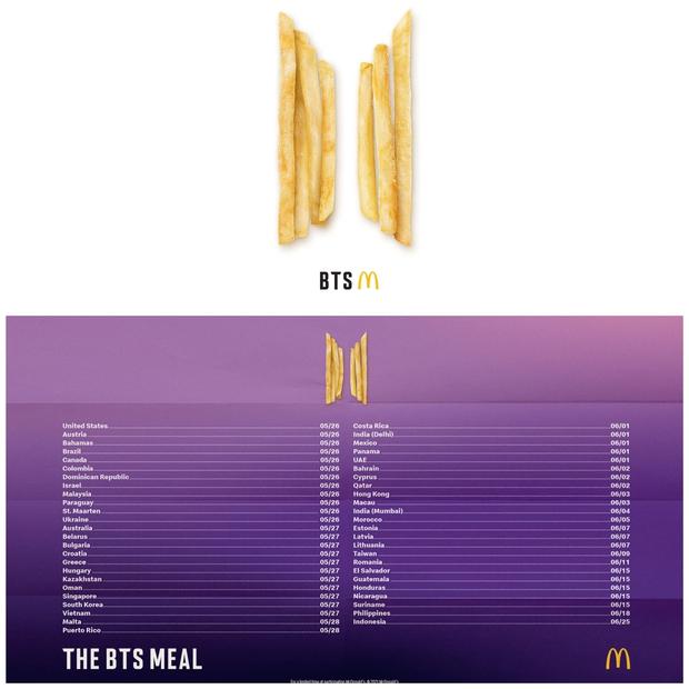 McDonald's ra mắt phần ăn BTS ở Việt Nam, các fan rần rần hỏi: Có kèm theo BTS luôn không vậy? - Ảnh 1.