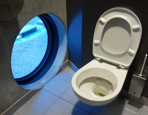 Tuyển tập những nhà vệ sinh hắc ám, nhìn xong là đủ kiên nhẫn nhịn đến lúc về nhà - Ảnh 15.