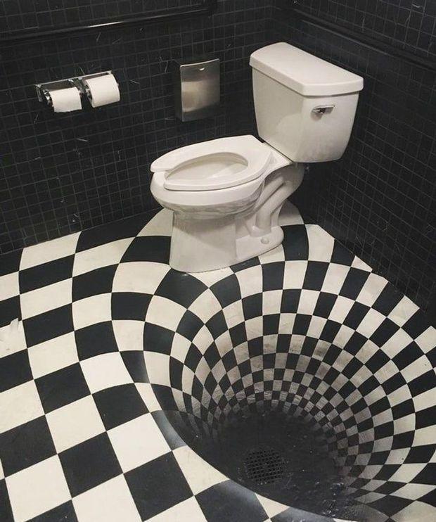 Tuyển tập những nhà vệ sinh hắc ám, nhìn xong là đủ kiên nhẫn nhịn đến lúc về nhà - Ảnh 12.