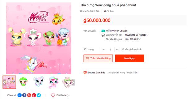 Trào lưu Winx En chan tít lấn sân sang cả Shopee, được bán với mức giá khó tin! - Ảnh 8.