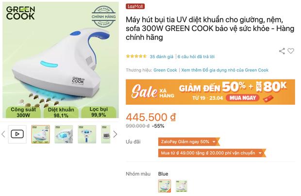 Đồ điện gia dụng hot đang có giá sale cực tốt: Máy hút bụi ga giường chỉ 400k, máy lọc không khí giảm 40% - Ảnh 5.