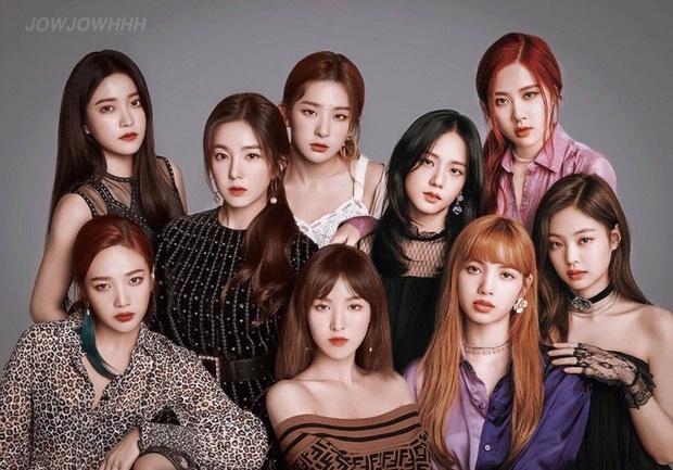 """""""Bội thực"""" trước tổ hợp visual đỉnh nhất Kpop Red Velvet - BLACKPINK ở lễ trao giải: Cả dàn nữ thần xinh như mộng loá cả mắt! - Ảnh 19."""