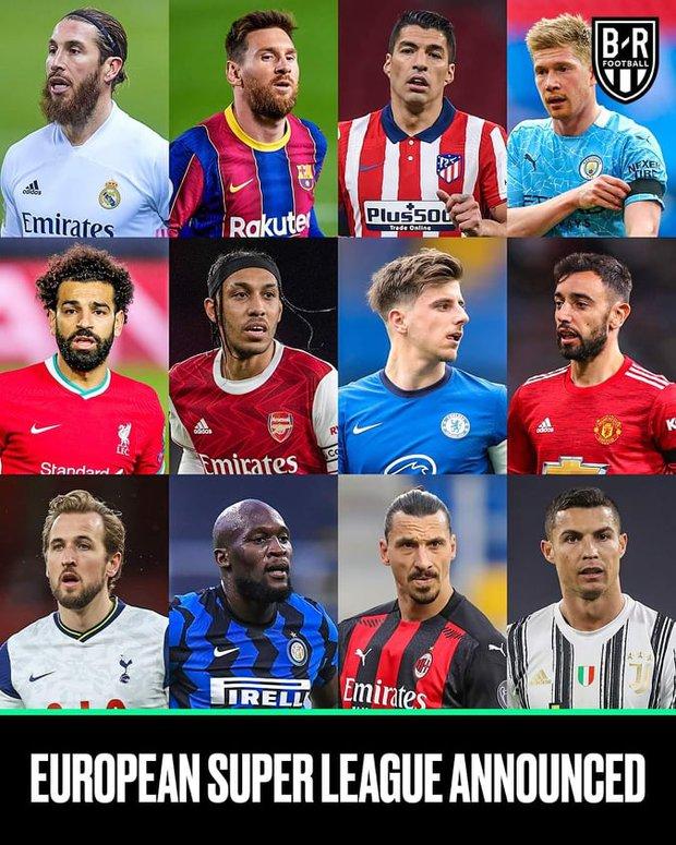 12 đại gia châu Âu quyết định tách riêng thành lập siêu giải đấu Super League trị giá hàng tỷ USD, bóng đá thế giới trên bờ vực chia rẽ nghiêm trọng vì lệnh cấm nghiêm khắc dành cho nhóm phản loạn - Ảnh 2.