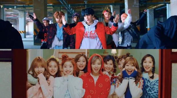 Mối duyên ngầm giữa BTS và TWICE: Trai đẹp cứ 5 lần 7 lượt comeback là kiểu gì cũng đụng độ gái xinh - Ảnh 8.
