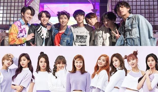 Mối duyên ngầm giữa BTS và TWICE: Trai đẹp cứ 5 lần 7 lượt comeback là kiểu gì cũng đụng độ gái xinh - Ảnh 12.