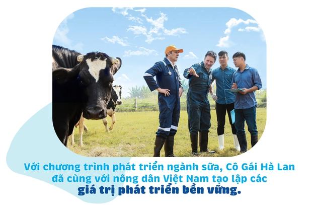 """25 năm sữa Cô Gái Hà Lan đã """"bén duyên"""" với đất nước, con người Việt Nam như thế nào - Ảnh 3."""
