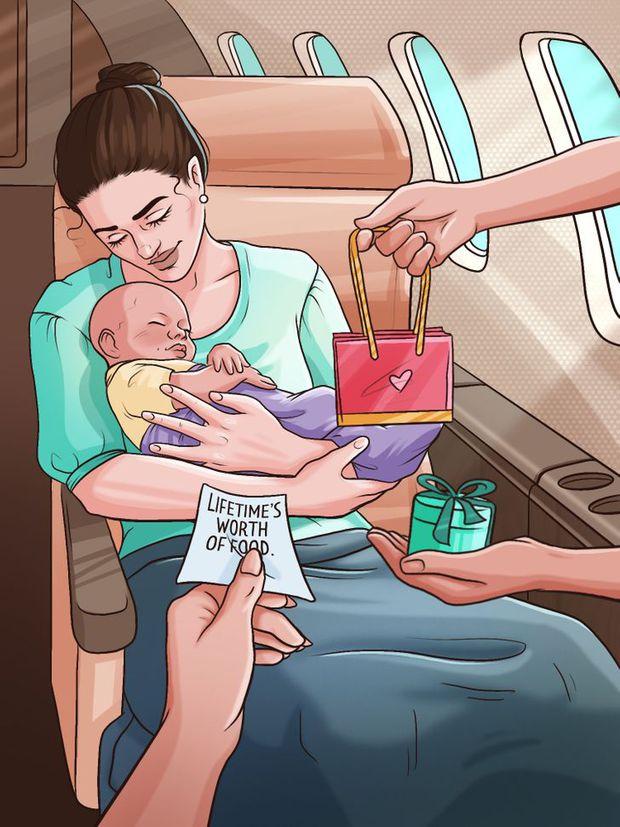 Điều gì sẽ xảy ra nếu 1 em bé ra đời ngay trên máy bay? Mọi chuyện sẽ không giống như bạn tưởng tượng - Ảnh 4.