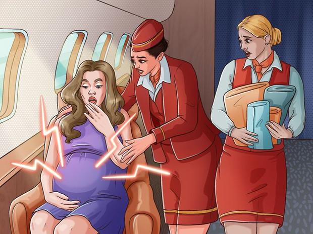 Điều gì sẽ xảy ra nếu 1 em bé ra đời ngay trên máy bay? Mọi chuyện sẽ không giống như bạn tưởng tượng - Ảnh 5.