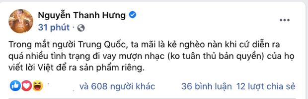 Trào lưu nhạc Hoa lời Việt nở rộ, nhạc sĩ Mew Amazing và Thanh Hưng bày tỏ quan điểm gay gắt - Ảnh 6.