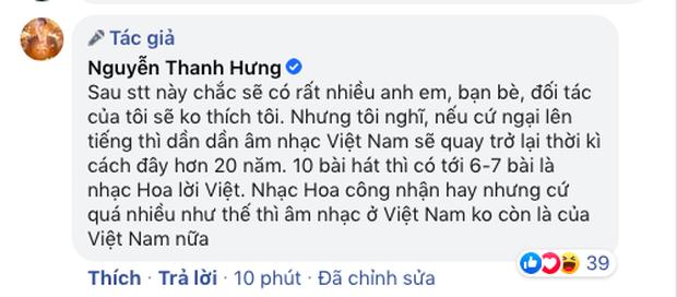 Trào lưu nhạc Hoa lời Việt nở rộ, nhạc sĩ Mew Amazing và Thanh Hưng bày tỏ quan điểm gay gắt - Ảnh 7.