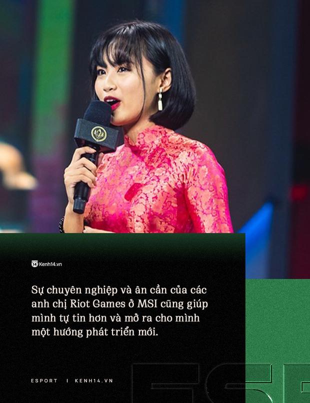 Chuyện nàng công chúa làng eSports Việt - Minh Nghi, từ nữ MC quốc dân của VCS đến biểu tượng sống còn của Tốc Chiến - Ảnh 4.