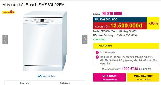 Máy rửa bát đang có giá siêu tốt: Từ 4,5 triệu là tậu được trợ thủ đắc lực giảm tải việc nhà - Ảnh 13.