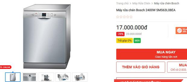 Máy rửa bát đang có giá siêu tốt: Từ 4,5 triệu là tậu được trợ thủ đắc lực giảm tải việc nhà - Ảnh 15.