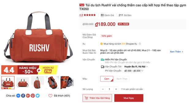 Túi du lịch tiện lợi giá rẻ: Chỉ từ 48k tậu được một chiếc xinh xắn - Ảnh 11.