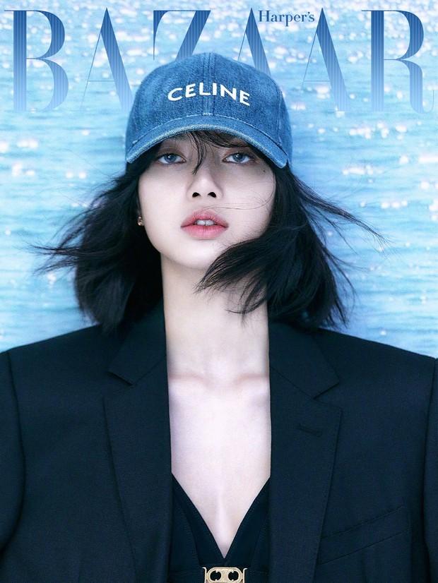 Lisa bất ngờ bị Harpers Bazaar Trung Quốc xoá ảnh, netizen hoang mang: Lẽ nào liên quan drama Bông Tân Cương? - Ảnh 1.