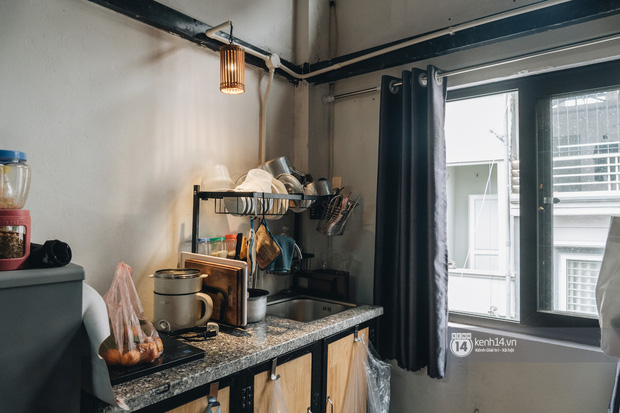 Review căn hộ mini cực hot trong giới sinh viên: Đầy đủ tiện nghi, sống sướng hơn nhà trọ nhưng giá 5-10 triệu liệu có đáng? - Ảnh 4.