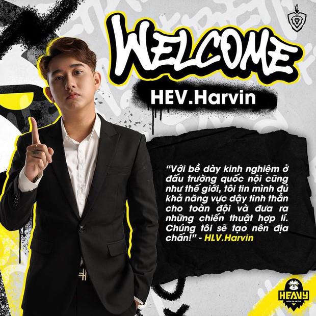 Chính thức: HEAVY chiêu mộ thành công HLV Harvin ngay trước thềm đại chiến Team Flash - Ảnh 2.