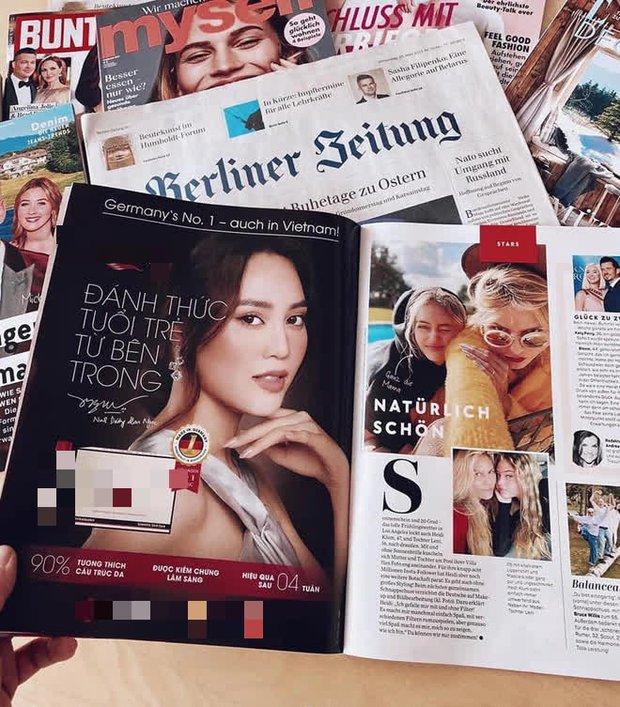 Lan Ngọc trở thành nghệ sĩ Việt đầu tiên xuất hiện trên tạp chí hàng đầu nước Đức - Ảnh 3.