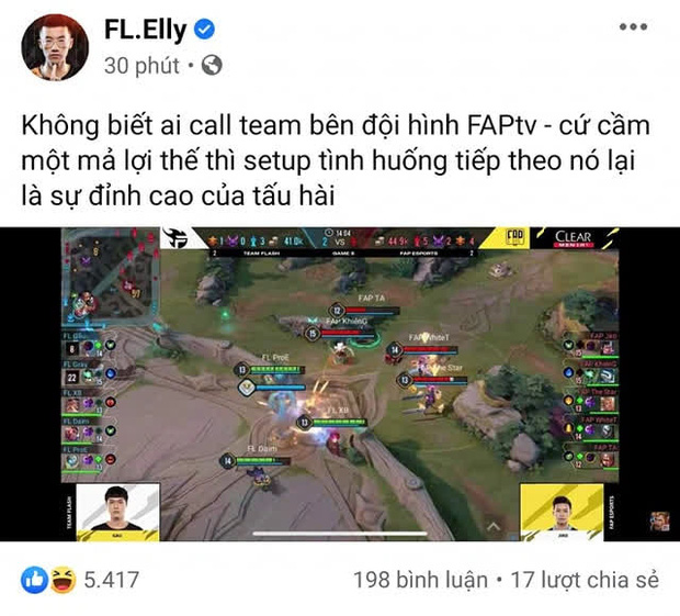 Elly chỉ ra lý do thất bại của FAP Esports trước Team Flash, một quyết định sai lầm đã phá hủy tất cả! - Ảnh 1.